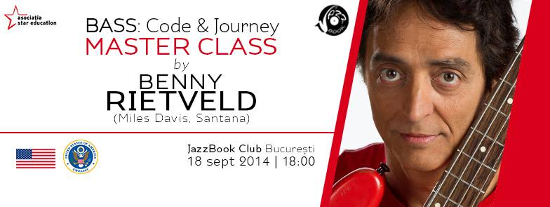 Bass: Code & Journey. MasterClass by Benny Rietveld